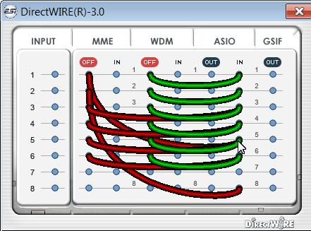 Equalizzazione - DirectWire - Dirottare
